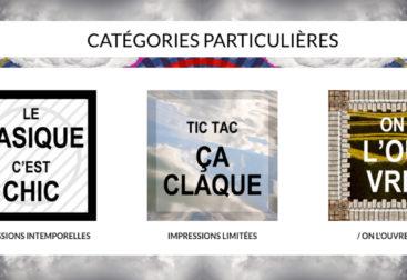 Conception-rédaction pour la marque Impression Particulière